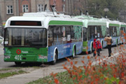 10 New Trolleybuses Donated To The City Of Severodonetsk