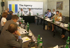 Professional Discussions Initiated by the Agency of the Modernization of Ukraine Continue in Kiev