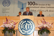 Dmitry Firtash Speaks At The Jubilee Session Of The International Labor Organisation