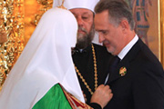 Dmitry Firtash Receives Order from Patriarch Kirill for Support in Holy Trinity Cathedral Construction