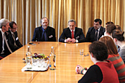 Dmitry Firtash Meets Cambridge Ukrainian Studies Program Participants And Cambridge Ukrainian Studentships Fellows