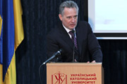 Dmitry Firtash Lectures Before Lviv Business School Community