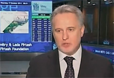 Dmitry Firtash Opened Trading on London Stock Exchange