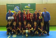 Young Players From Gorlovka Win Ukrainian Futsal Cup