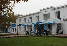 STIROL Presented New Clinic To Gorlovka