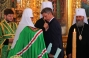His Holiness Patriarch Kirill awards Mr. Yuriy Boyko, Minister of Energy Sector and Coal Mining with the Order of Holy Serafim Sorovsky, 2nd Degree