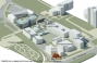 3D master plan layout of the campus