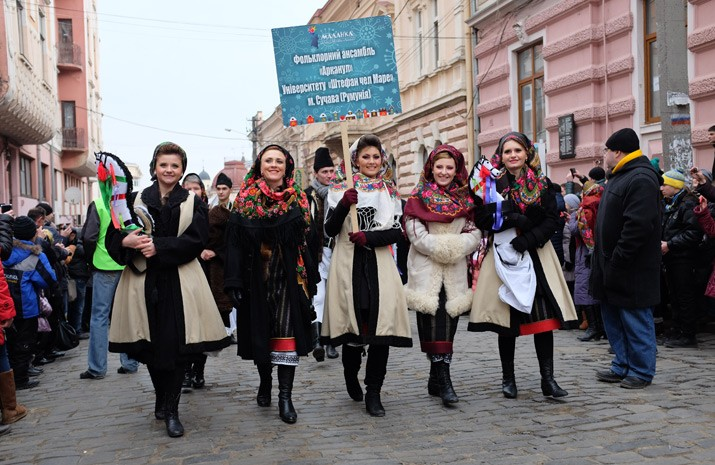 Malanka-Fest is a tribute to ancient traditions preserved by Ukrainians