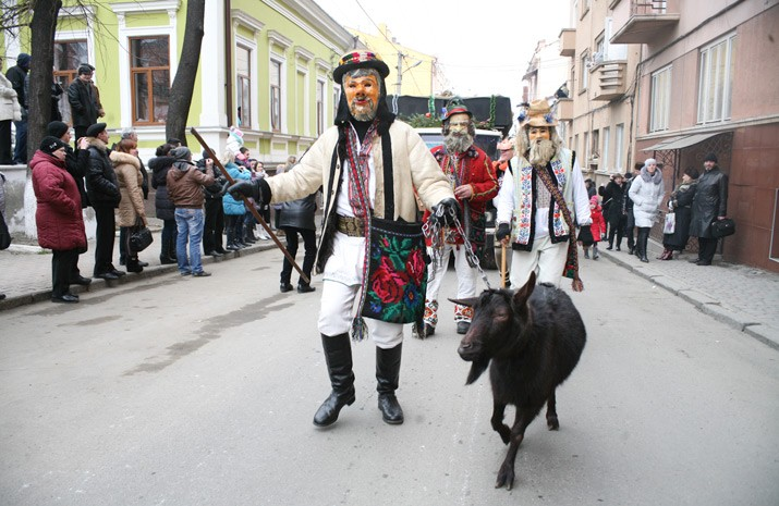 For many centuries Malanka Festival has been retaining the character of a wide public celebration
