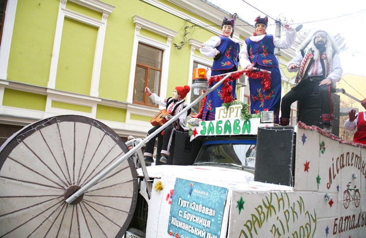 Traditional characters, such as Malanka, Vasyl, bears, goats, Gypsies, and modern heroes – characters of popular movies and cartoons – became the participants of the ethno-festival