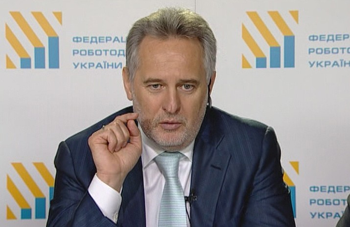 The FEU President Dmitry Firtash stressed that acting together business and government officials would be able to pull out of a deep crisis